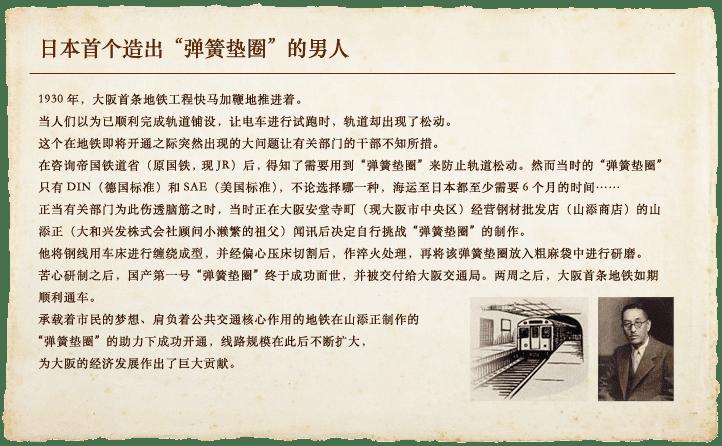 """日本首个造出""""弹簧垫圈""""的男人"""